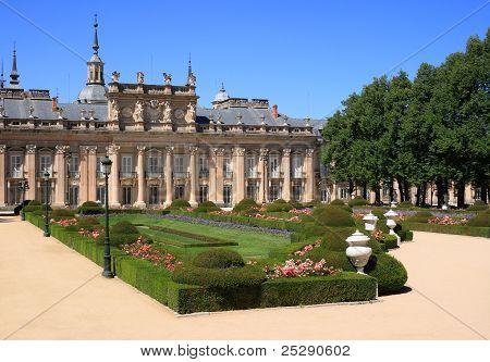 Royal Palace And Gardens Of La Granja De San Ildefonso (spain)