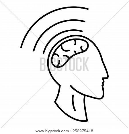 Brain Storming Icon. Outline Illustration Of Brain Storming Icon For Web Design Isolated On White Ba