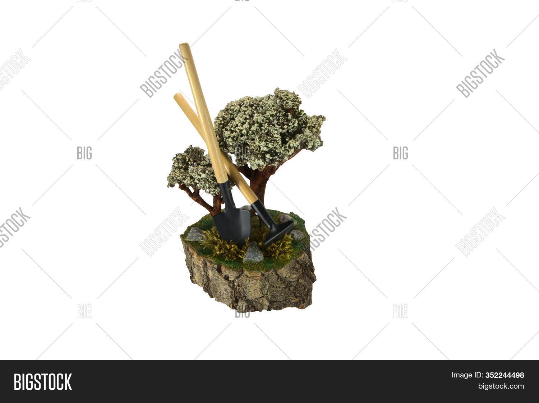 Gardener Tools Near Image Photo Free Trial Bigstock