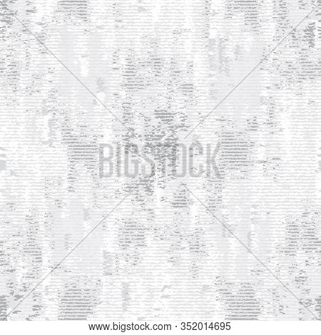 Monochrome Irregular Noisy Woven Effect Textured Background. Rough Graphic Distressed Weave Effect S