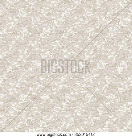 Unbleached Mottled Melange Texture Background. Diagonal Woven Stripe Style. Vector Pattern Design. E