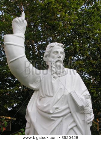 Statue Of Moses With Tablets