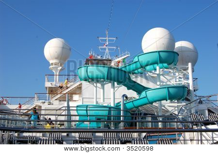 Cruise Ship Waterslide