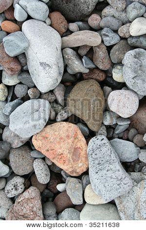 Pebbles Closeup