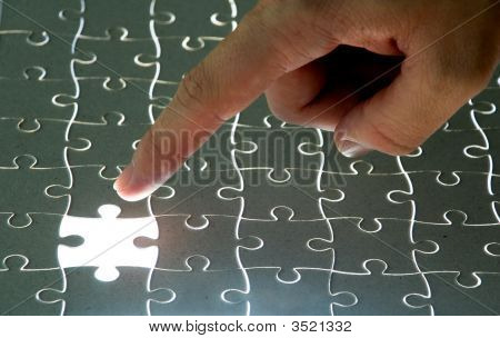 Pointing A Missing Puzzle Piece