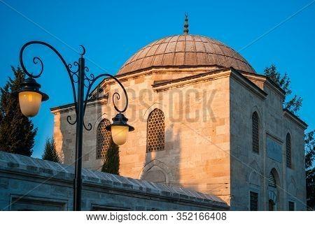 The Darulkurra Madrasa, A School For Quran Reciters, Of The Suleymaniye Mosque In Istanbul, Turkey,