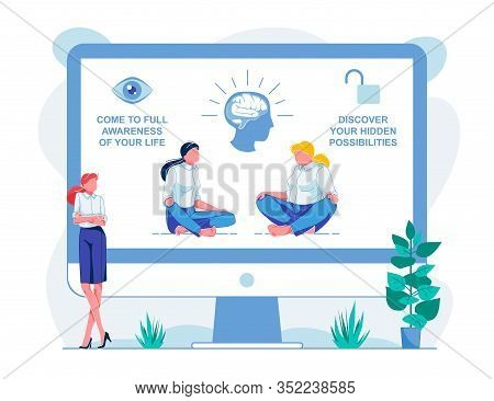 Come To Full Awareness Your Life Course, Flat. Online Course Has Opportunity To Explore Hidden Possi