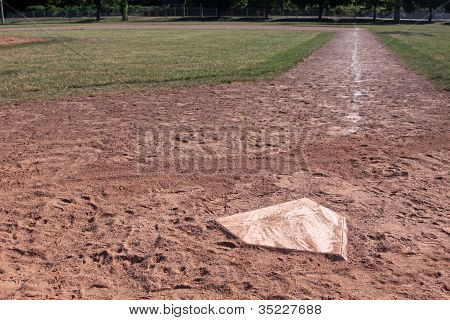 Home Plate Right Side