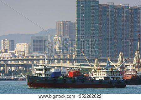 6 Dec 2008 West Kowloon , City View Of West Kowloon At Hong Kong
