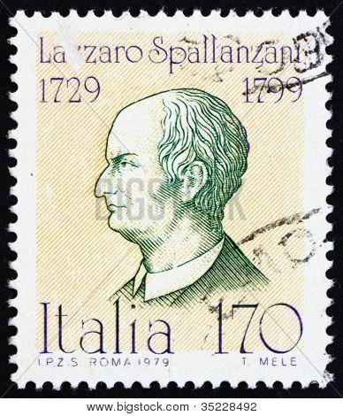 Postage stamp Italy 1979 Lazzaro Spallanzani, Physiologist