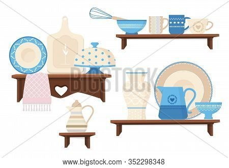 Ceramic Kitchen Cookware. Cafe Restaurant Equipment Decorative Handmade Colored Dishes Mugs Teapots