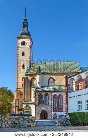 Church Of Assumption Of Virgin Mary In Banska Bystrica, Slovakia