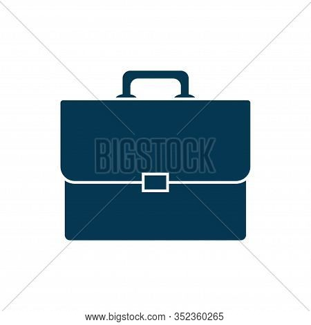 Briefcase Icon Isolated On White Background. Vector Illustration