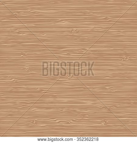 Brown Wood Texture Vector Background. Vector Illustration