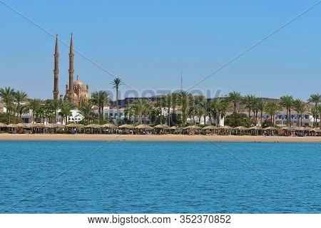 Sunny Summer Beach View, Sharm El Sheikh, Egypt