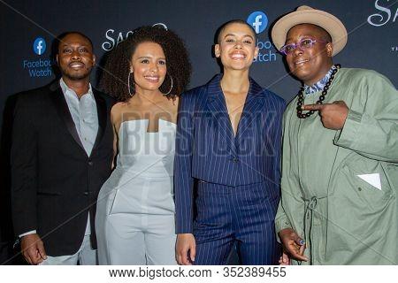 Adrian Holmes, Antonique Smith, Jordan Alexander, Cheryl Dunye at the