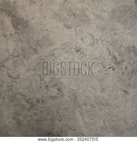 Texture Natural Marble Gray Color. Designer Blank Square Copy Spase Background. Natural Stone For Us