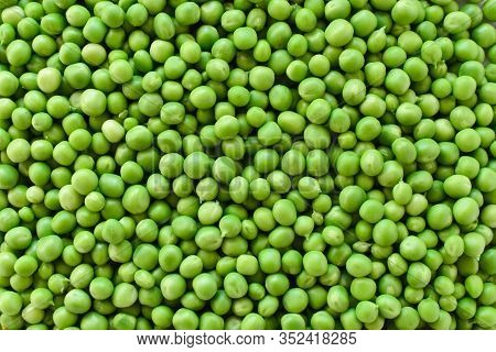 Green Pea. Background Of Green Peas. Proper Nutrition. The Concept Of Vegetarianism.