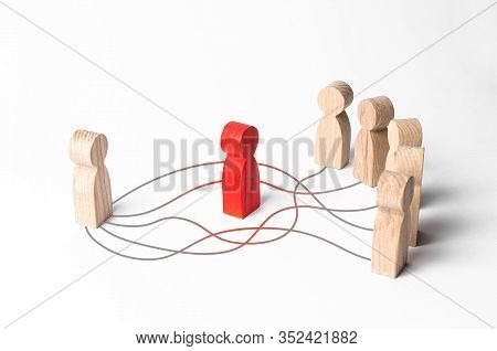 People Communicate Bypassing The Intermediary. Extra Link, Rejection Mediation, Bureaucracy Corrupti