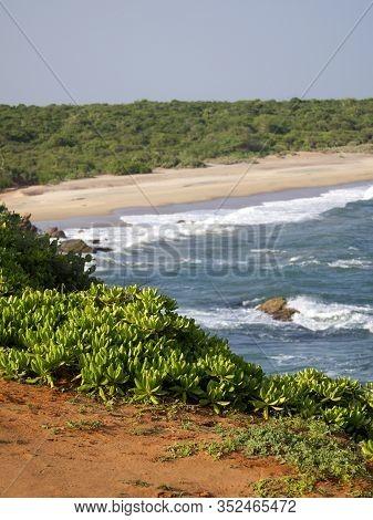 Beautiful Landscape In Hikkaduwa, Sri Lanka, Asia
