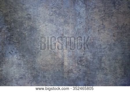Old And Dark Stone Structure As A Background