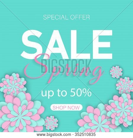 Sale spring banners. Spring background. Womens Day poster. Spring illustration. Spring banners. Spring Vectors. SpringVector Illustration. Spring template. Spring banner, spring flyer, spring design, spring with flowers, Copy space text area
