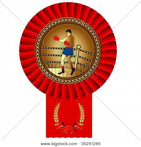 Fisticuffs Box Gold Medal Red Tape