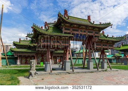 The Winter Palace of the Bogd Khan in Ulaanbaatar, Mongolia
