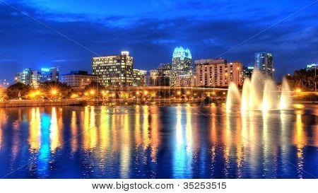 Orlando Skyline at Twilight