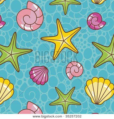 Colorful Sea Pattern