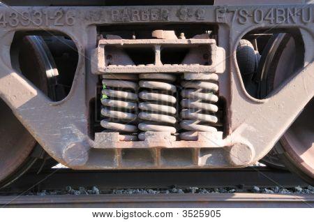 Springs On Train Car