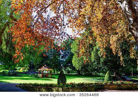 Autumn Hyde Park Perth Western Australia