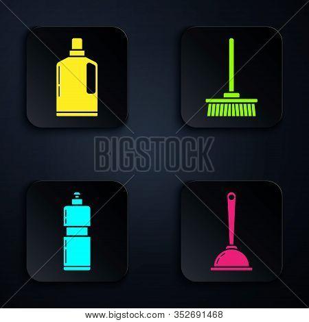 Set Toilet Plunger, Plastic Bottles For Liquid Dishwashing Liquid, Plastic Bottles For Liquid Dishwa