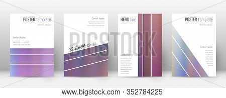 Flyer Layout. Geometric Majestic Template For Brochure, Annual Report, Magazine, Poster, Corporate P
