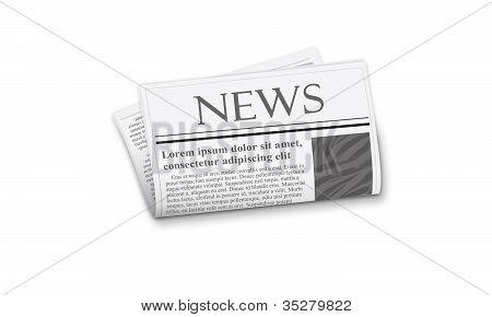 Newspaper illustration