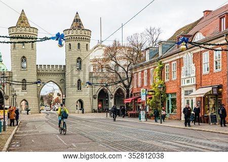 Gothic Potsdam Nauener Tor Gate.