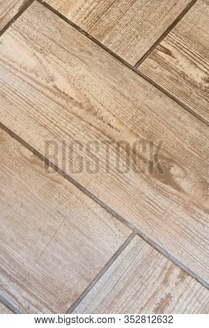 Wooden Ceramic Tile Texture, Like Natural Wooden Parquet