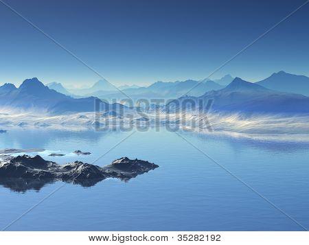 Peaceful Water Scene