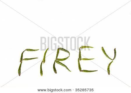 Firey Green Chillies