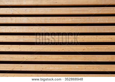 Wooden Wall As Background Paralel  Wood And Dark Lines