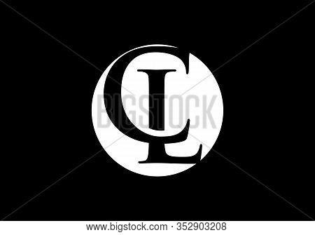 C L Initial Letter Logo Design, Creative Modern Letters Vector Icon Logo Illustration.