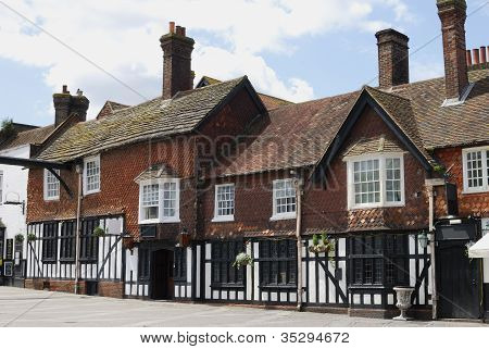 Old Buildings In Crawley. England