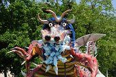 France terrific dragoon in Les Mureaux carnival poster
