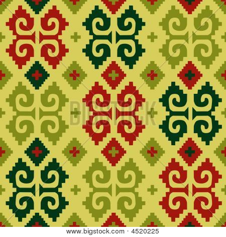 """Mexican seamless pattern. From my """"Mexican collection"""" poster"""