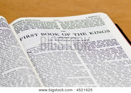 Bible Page - Kings