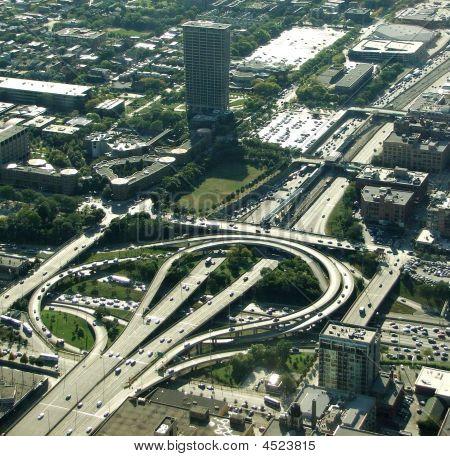 Traffic Loop Chicago