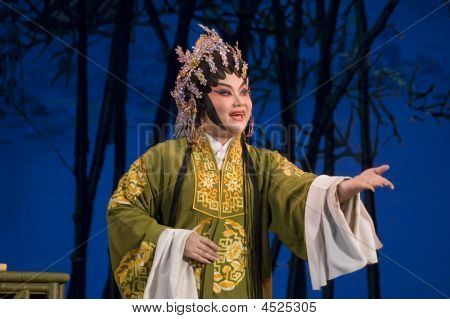 Chinese Opera - Singing Actress Portrait