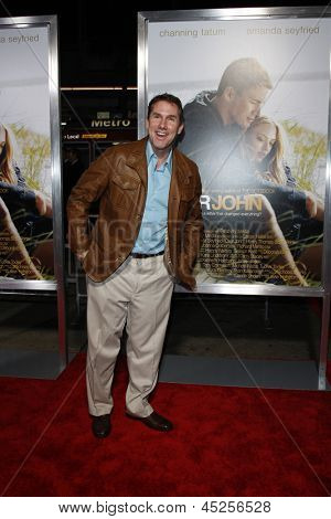 LOS ANGELES - FEB 1: Nicholas Sparks arrives at the premiere of 'Dear John' held at the Grauman's Chinese Theater in Los Angeles, California on February 1, 2010