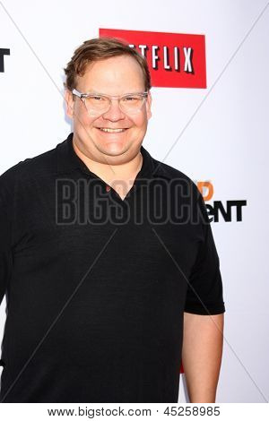 LOS ANGELES - APR 29:  Andy Richter arrives at the