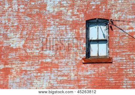 Framed By Red Sandstone